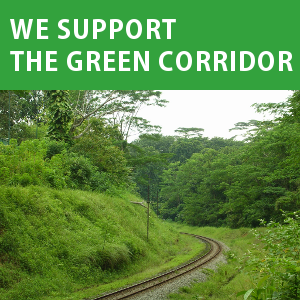 Support The Green Corridor